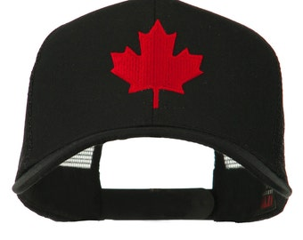 Canada's Maple Leaf Embroidered Mesh Back Cap