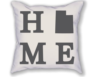 Utah Home State Pillow