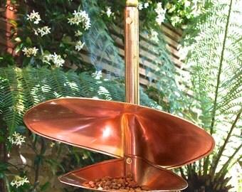 Copper Swirl Birdfeeder LT228