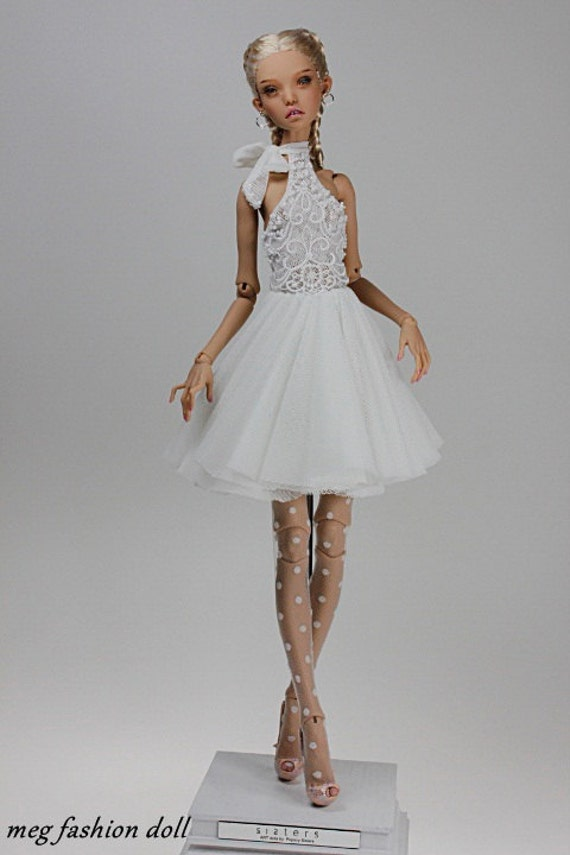 meg fashion doll outfit dress for Popovy Sisters Doll new