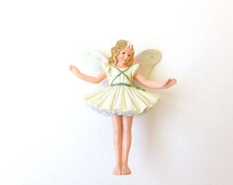 Garden fairies,  Christmas Tree fairy, fairy figurine, fairy garden, miniature garden, fairy garden