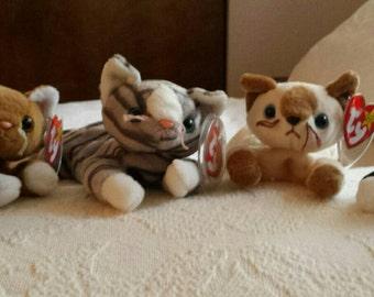 Beanie Baby Kitties