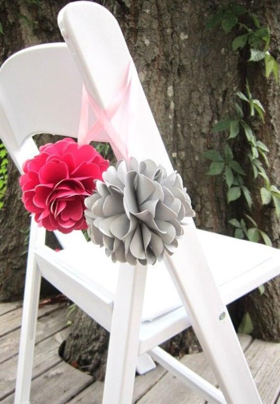 DIY Hanging Pomander Flower Ball Paper Kissing Balls