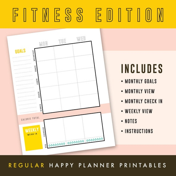 Undated Monthly Calendar Printable Insert B6 Size TN PDF