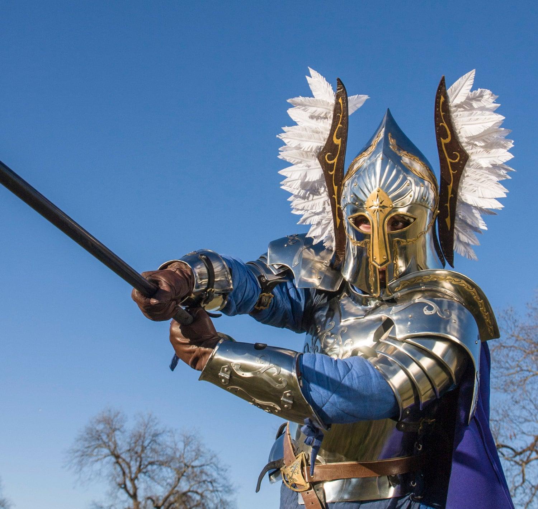 LOTR Gondor Fountain Guard Armor Suit with a helmet by ...  LOTR Gondor Fou...