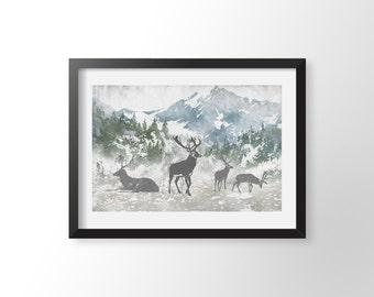 The Woodland Deer