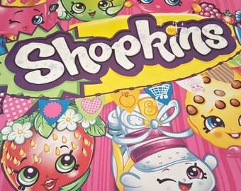 Shopkins Blanket/Toddler Blanket/Crib Blanket/Toddler/Crib Bedding