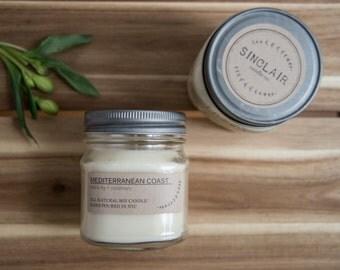 Rosemary candle | Etsy