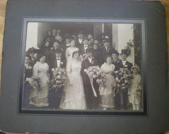 Vintage Wedding photo 1900's