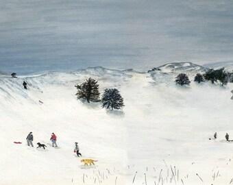 HillArt 'Snow Fun' Card