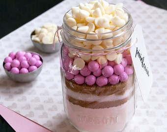 It's a Girl! - Mason Jar Cookie Mix