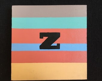 Initial Painting #Z2