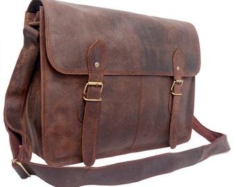 Multipurpose Leather bag crossbody laptop bag diaper bag women travel handbag purse laptop satchel