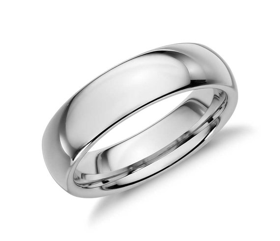 Silver Plain Wedding Band Ring Mens Or Womens By TheHopeChest2