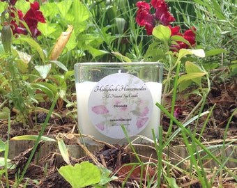 All-Natural Citronella Soy Candle