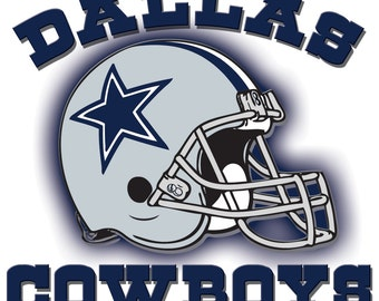 Dallas Cowboys # 17 - 8 x 10 - T Shirt Iron On Transfer -