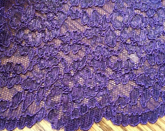 Beautiful Scalloped Edge Lace