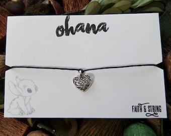 Lilo and Stitch Ohana Friendship Bracelet