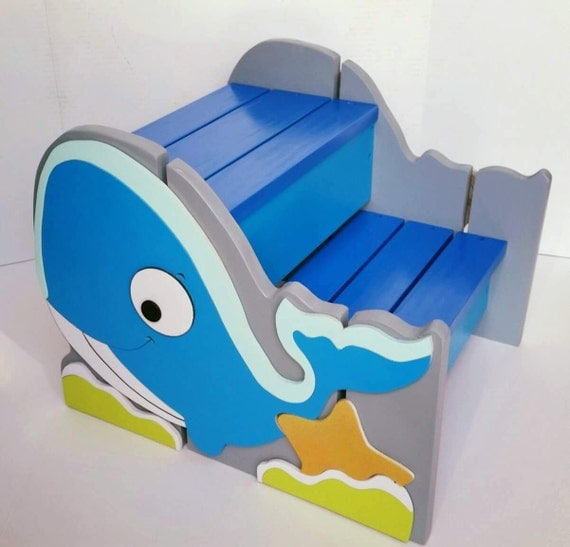 Wooden Step Stool For Kids Personalized Step Stool For