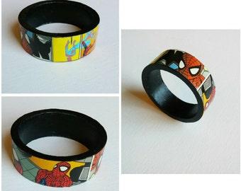 Spiderman bangle