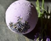Lavender Fields Fizz Bomb Soap Handmade in Virginia Bath Bomb