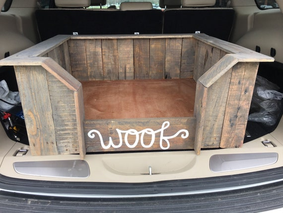 Handcrafted Upcycled Wood Dog Bed Pallet Dog Bed By