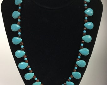 Cabochon Turquoise necklace