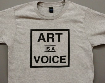 Art is a VOICE