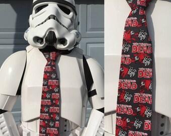 Walking Dead Novelty Necktie Tie TWD