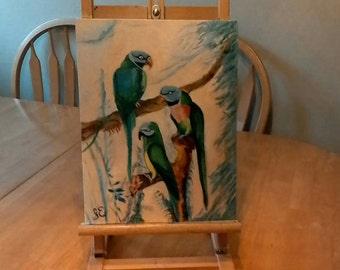 "Trio 11""x14"" oil on canvas"