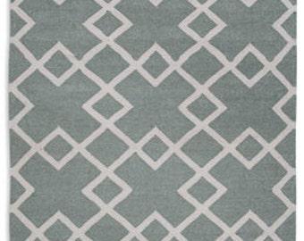 Juno Dove Grey Eco Friendly rug 6ft x 4ft