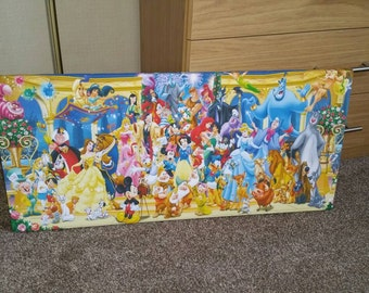 Disney Character Canvas