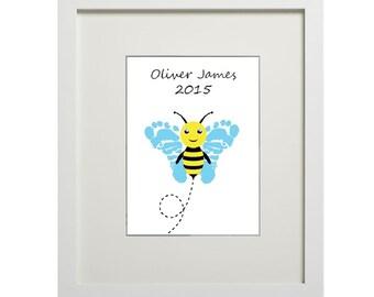 Bumble Bee (digital footprints)