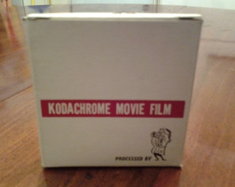KODACHROME MOVIE FILM boxes