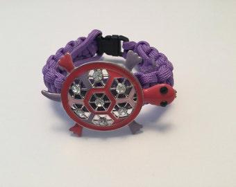 Bracelet style Paracord purple