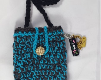 Handmade Crochet Cellphone Pouch