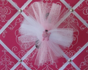 Pink Poodle Tulle Headband