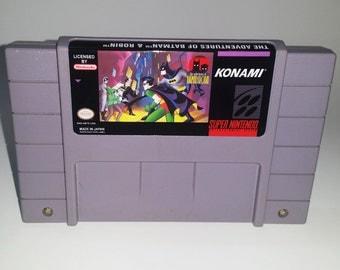 SNES- Adventures of Batman & Robin