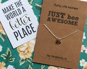Pretty Little Necklace - Just Bee Awesome