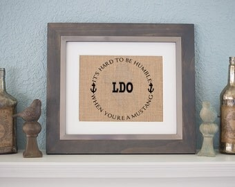 It's Hard to be humble when you are an LDO