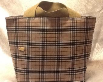 Tartan tote bags made to order