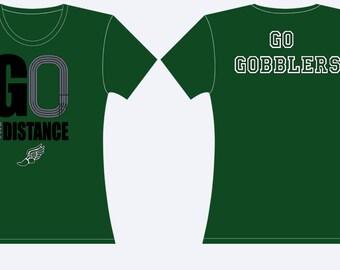 Go the distance Cross country Spirit shirt