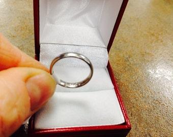 Ladies Platinum Ring