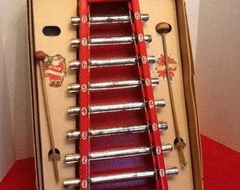 Vintage toy xylophone