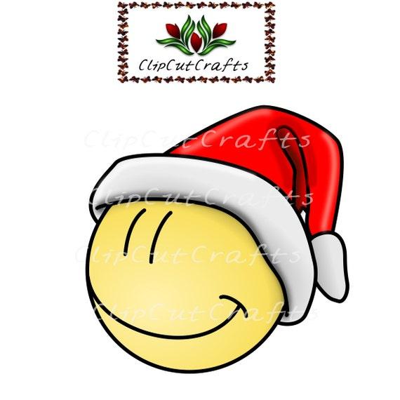 clip art christmas smiley face - photo #49