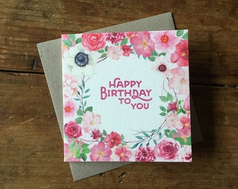 Happy Birthday to you – Small