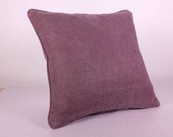 Mauve Cushion Cover (40cm x 40cm)