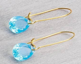 Earrings with acrylic Crystal Serenity