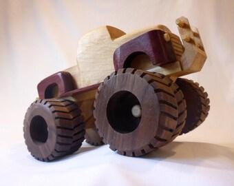 Monster Truck - Handmade Wooden Toy