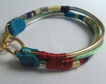 Woman's bracelet, boho style